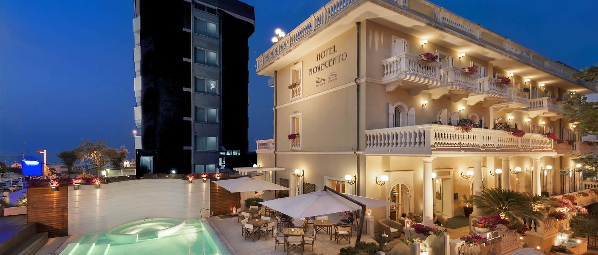 Hotel Riccione Centro Sul Mare